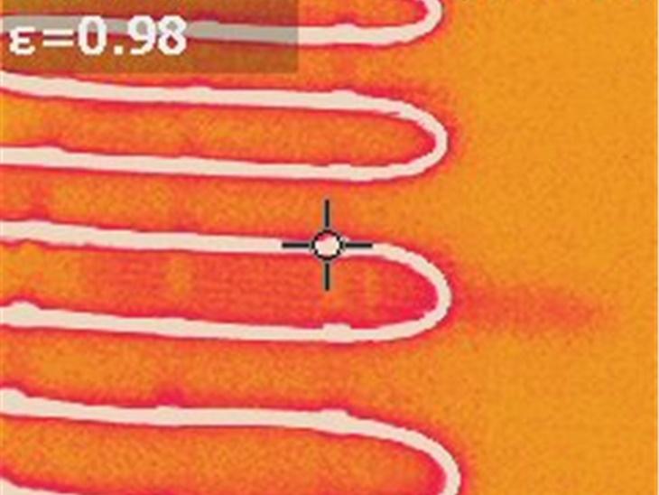 Rilievi di irraggiamento ad infrarossi di alcuni nostri impianti